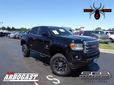New GMC Canyon Black Widow Lifted Truck