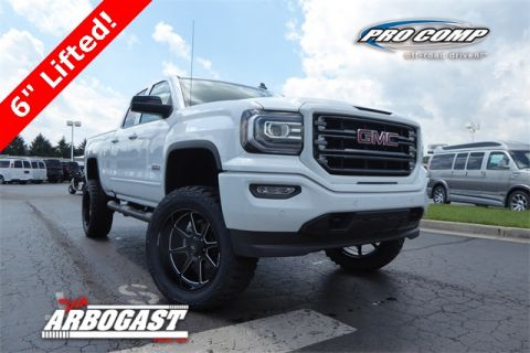 New 2018 GMC Sierra 1500 SLT Lifted Truck