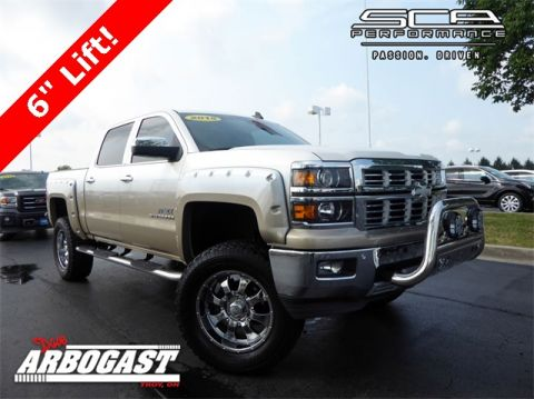 Used Chevrolet Silverado 1500 LTZ Apex Lifted Truck by SCA Performance