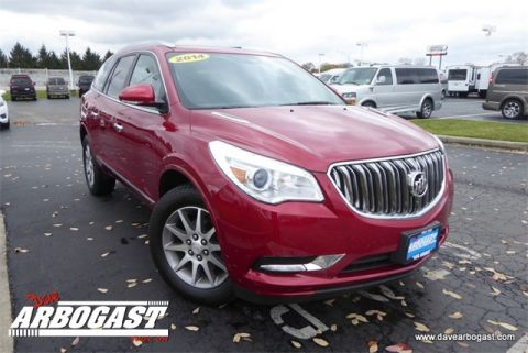 Certified Pre-Owned 2014 Buick Enclave Leather Group