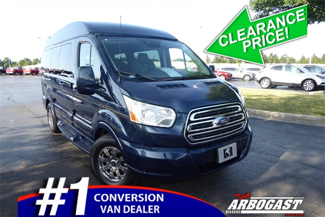 9495db46eb Pre-Owned 2017 Ford Conversion Van Explorer Limited SE Transit Hi ...