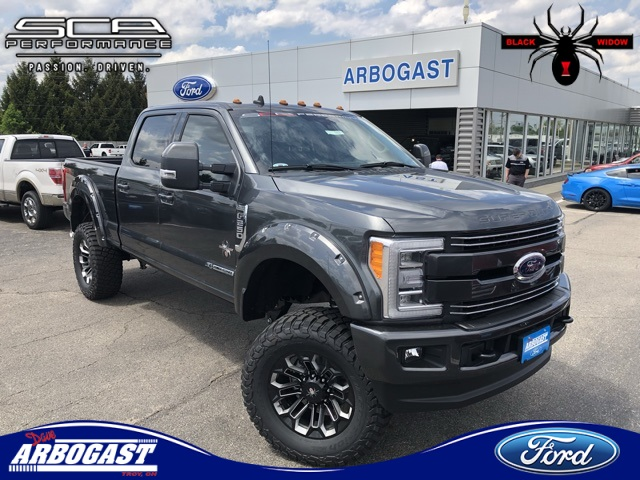 2017 F250 Lifted >> New 2019 Ford F 250sd Lariat Black Widow Lifted Truck With Navigation 4wd