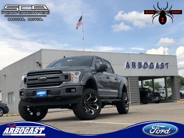 New 2019 Ford F-150 XLT Black Widow Lifted Truck