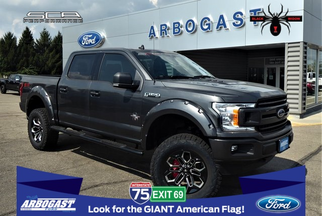 New 2019 Ford F 150 Xlt Black Widow Lifted Truck 4wd
