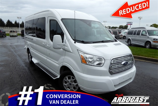 07017006e5 Pre-Owned 2015 Ford Conversion Van Sherrod Transit Mobility in Troy ...