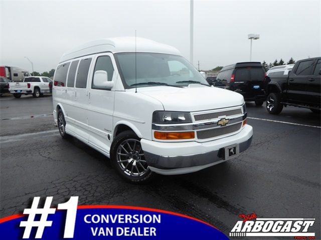 Pre-Owned 2014 Chevrolet Conversion Van Explorer Limited SE