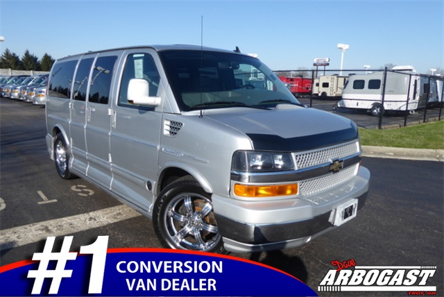 3148d73c9b Pre-Owned 2010 Chevrolet Conversion Van Explorer Limited SE Low-Top ...