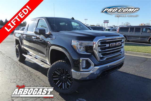 New 2019 GMC Sierra 1500 SLT Lifted Truck