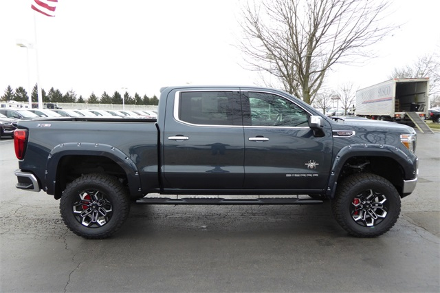 New 2019 GMC Sierra 1500 SLT Black Widow Lifted Truck