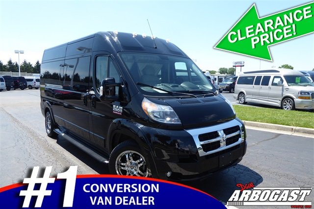 Pre Owned 2016 Ram Conversion Van Sherrod Promaster