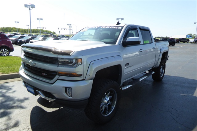 Pre-Owned 2016 Chevrolet Silverado 1500 LT Rocky Ridge Lifted Truck