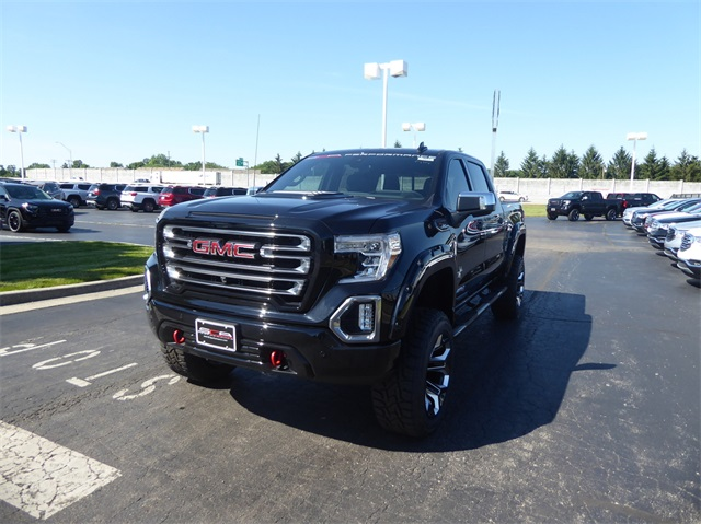 New 2019 GMC Sierra 1500 AT4 Black Widow Lifted Truck
