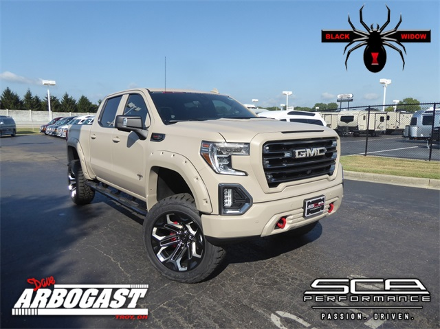 Lifted Gmc Sierra >> New 2019 Gmc Sierra 1500 At4 Black Widow Armed Forces Edition Lifted Truck 4wd