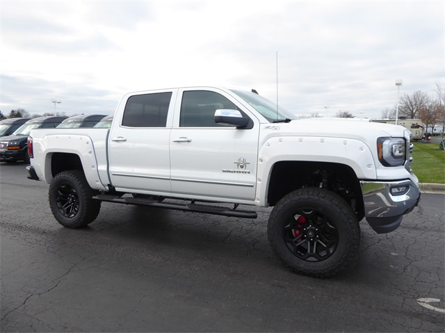 Gmc Sierra 2500 Lifted >> New 2018 GMC Sierra 1500 Black Widow Lifted Truck 4D Crew Cab in Troy #G12078 | Dave Arbogast