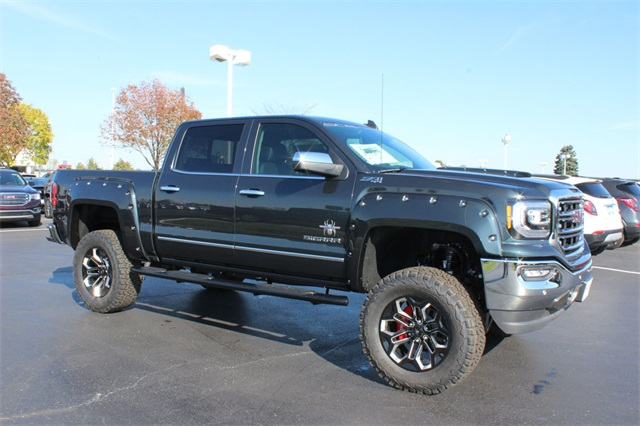 2018 gmc lifted trucks. delighful 2018 new 2018 gmc sierra 1500 black widow z71 lifted truck on gmc lifted trucks