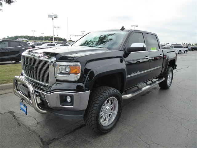 Pre-Owned 2015 GMC Sierra 1500 SLE Tuscany Lifted Truck