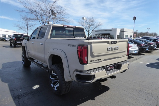 New 2019 GMC Sierra 1500 SLT Black Widow Lifted Truck Armed Forces Edition