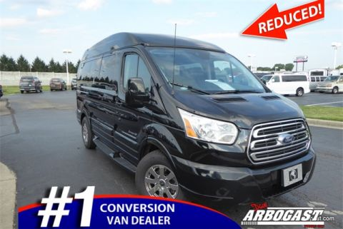 Pre-Owned 2017 Ford Conversion Van Explorer Limited SE Transit