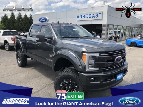 New 2019 Ford F-250SD Lariat Black Widow Lifted Truck
