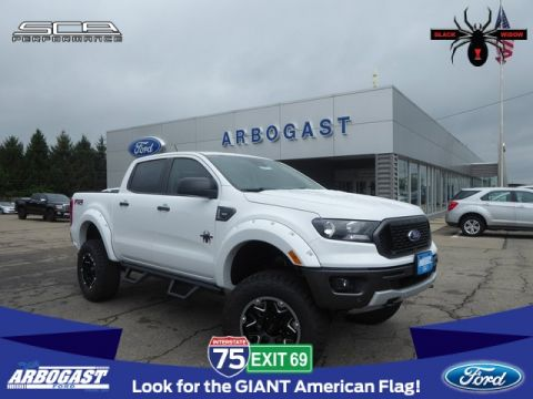 New 2019 Ford Ranger XLT Black Widow Lifted Truck