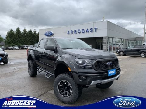 New 2019 Ford Ranger Black Widow Lifted Truck