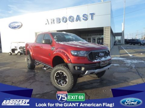 New 2019 Ford Ranger XLT SCA Lifted Truck