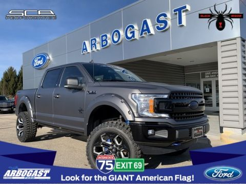 New 2019 Ford F-150 XLT Black Widow Limited Lifted Truck
