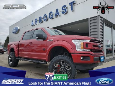 New 2020 Ford F-150 XLT SCA Black Widow Lifted Truck