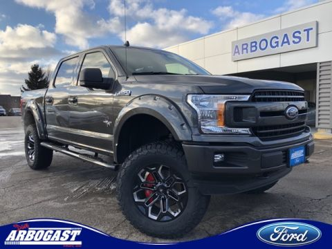 New 2019 Ford F-150 Black Widow Lifted Truck