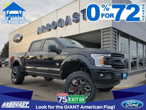 2020 Ford F-150 SCA Performance Black Widow Lifted Truck