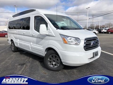 New 2019 Ford Conversion Van Explorer Limited SE Transit