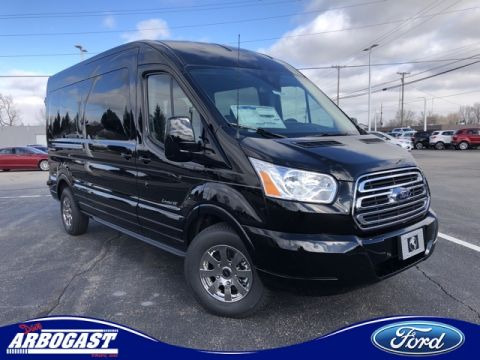 New 2019 Ford Conversion Van Explorer Limited SE Transit Mid Roof
