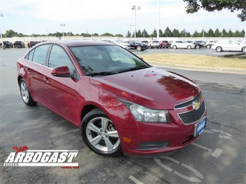 Pre-Owned 2013 Chevrolet Cruze 2LT