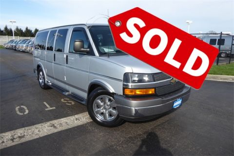 Pre-Owned 2014 Chevrolet Conversion Van American Luxury Coach