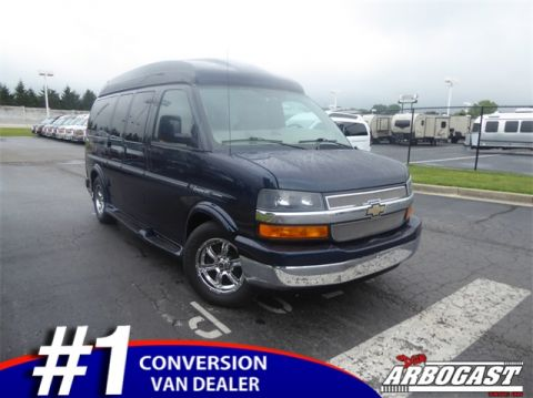 Pre-Owned 2012 Chevrolet Conversion Van Explorer Limited SE