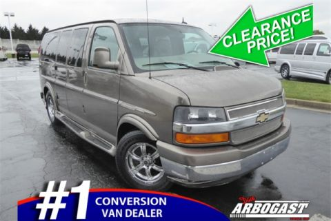 Pre-Owned 2013 Chevrolet Conversion Van Explorer Limited AWD
