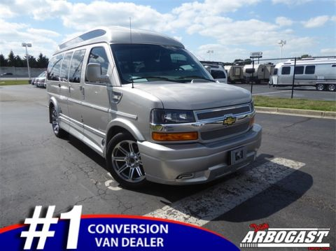 Pre-Owned 2018 Chevrolet Conversion Van Explorer Limited SE
