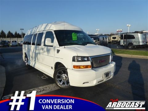 Pre-Owned 2013 GMC Conversion Van Explorer 15 Passenger