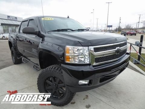 Pre-Owned 2013 Chevrolet Silverado 1500 LT Lifted Truck