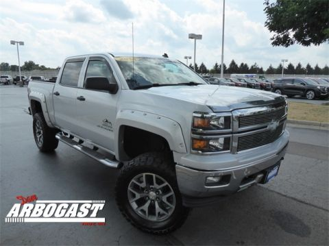 Pre-Owned 2014 Chevrolet Silverado 1500 LT Rocky Ridge Lifted Truck