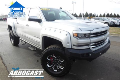 Pre-Owned 2016 Chevrolet Silverado 1500 LTZ Lifted Truck