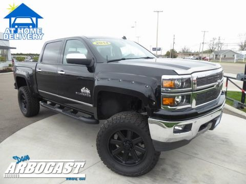 Pre-Owned 2014 Chevrolet Silverado 1500 LTZ Rocky Ridge Altitude Lifted Truck