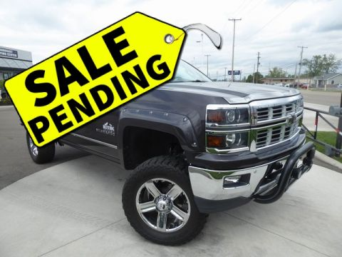 Pre-Owned 2015 Chevrolet Silverado 1500 LTZ Lifted truck