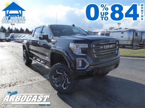 New 2020 GMC Sierra 1500 AT4 Black Widow Lifted Truck