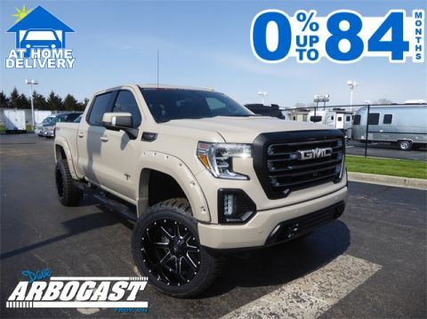 New 2020 GMC Sierra 1500 Military Edition Black Widow Lifted Truck