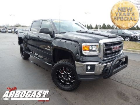 Pre-Owned 2014 GMC Sierra 1500 SLE Lifted Truck