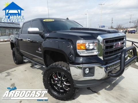 2014 GMC Sierra 1500 Black Widow Lifted Truck