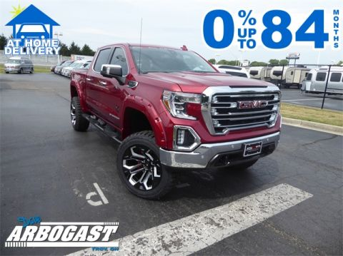2019 GMC Sierra 1500 SLT Black Widow Lifted Truck