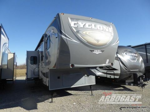 Pre-Owned 2012 Heartland Cyclone 3950